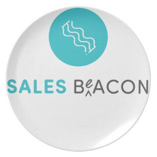 SalesBeacon - Bacon - Grey Plate