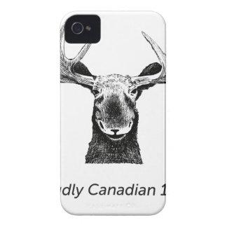 SalesBeacon - Bacon - Moose - Black iPhone 4 Case