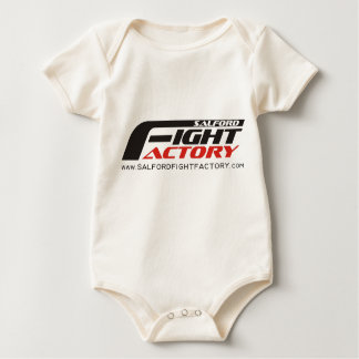 Salford Fight Factory Baby Vest Baby Bodysuit