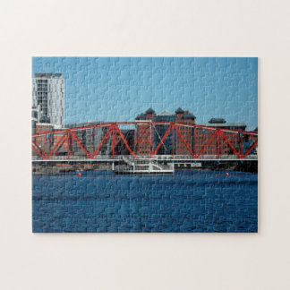 Salford quays Manchester docks. Puzzles