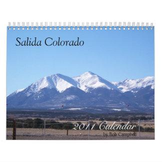 Salida Colorado, 2011 Calendar