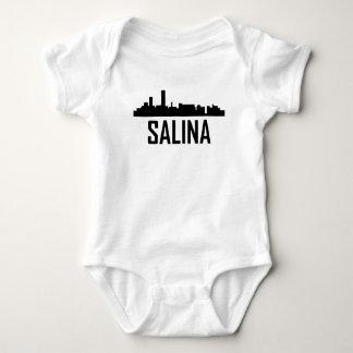 Salina Kansas City Skyline Baby Bodysuit