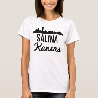 Salina Kansas Skyline T-Shirt
