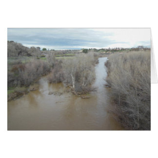 Salinas River North of Veterans Memorial Bridge Card