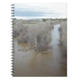 Salinas River North of Veterans Memorial Bridge Notebook