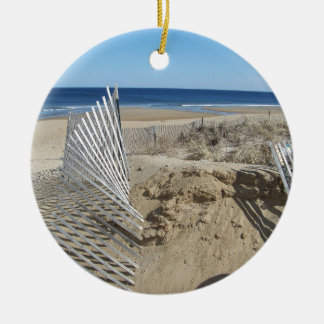 Salisbury Beach Massachusetts Ceramic Ornament