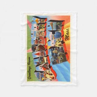 Salisbury Beach Massachusetts MA Travel Souvenir Fleece Blanket