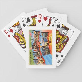 Salisbury Beach Massachusetts MA Travel Souvenir Playing Cards