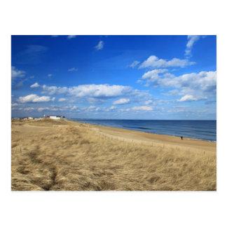 Salisbury Beach Quiet Winter Day Postcard