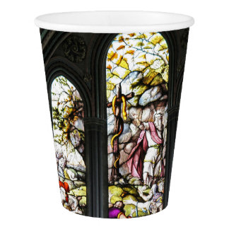 Salisbury Cathedral Transept Stained Glass Window Paper Cup