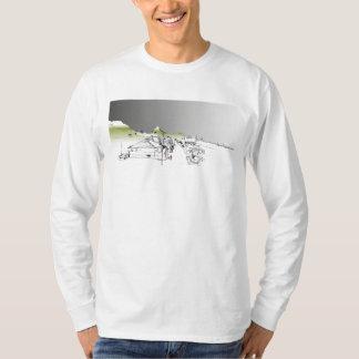 Salisbury Rd, Woodstock, Cape Town. Ciel de T-shirt