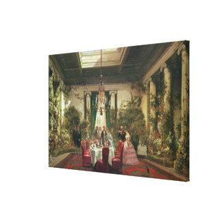 Salle-un-Manger de princesse Mathilde Toile Tendue Sur Châssis