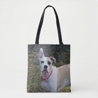 Sally - A Rescued Dog Tote Bag