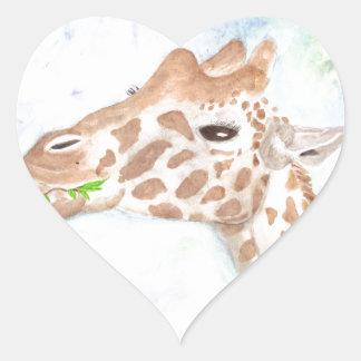 Sally Heart Sticker