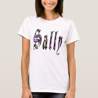 Sally, Name, Logo, Ladies White T-shirt