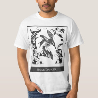 Sally Rayn: Hawk Dancer t-shirt
