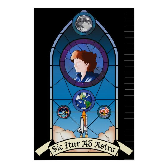 Sally Ride Memorial Poster