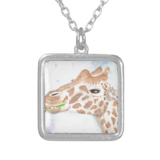 Sally Silver Plated Necklace