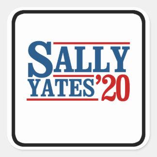Sally Yates 2020 - Square Sticker