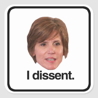 Sally Yates Dissent - Square Sticker