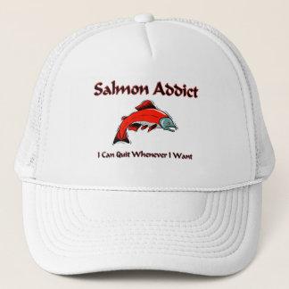 Salmon Addict Trucker Hat
