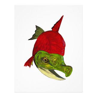 Salmon Beauty Letterhead