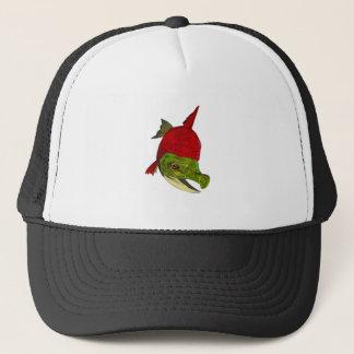 Salmon Beauty Trucker Hat