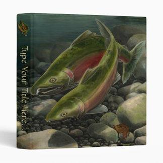 Salmon Binder Gone Fishing Photo Album Binder