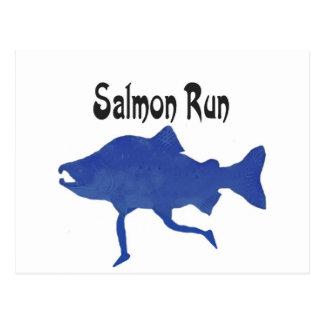 Salmon (FISH) Postcard