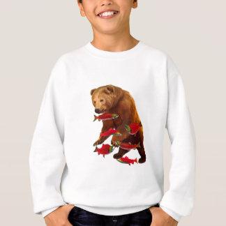Salmon fishing sweatshirt