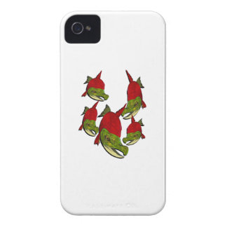 Salmon Flow Case-Mate iPhone 4 Case
