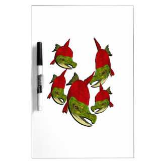 Salmon Flow Dry Erase Board