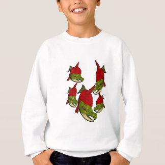 Salmon Flow Sweatshirt