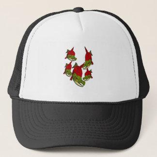 Salmon Flow Trucker Hat
