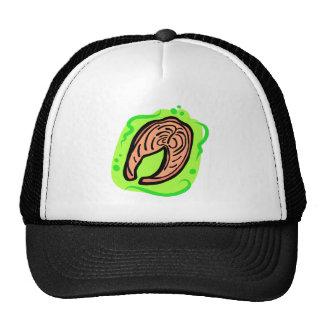 Salmon Mesh Hat