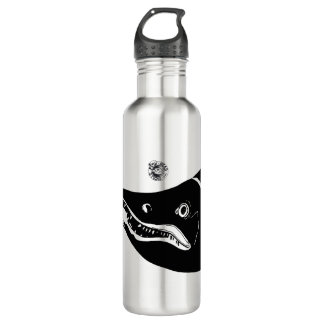 Salmon Head Stainless Steel Water Bottle