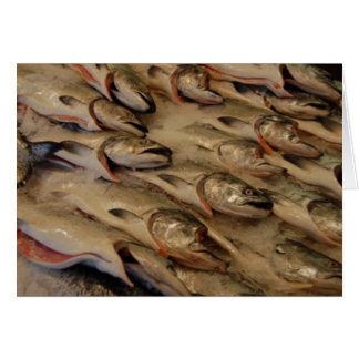 salmon heads card