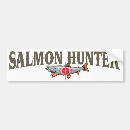Salmon Hunter Bumper Sticker