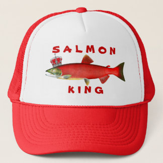 Salmon King Trucker Hat