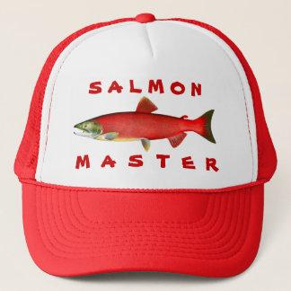 Salmon Master Trucker Hat