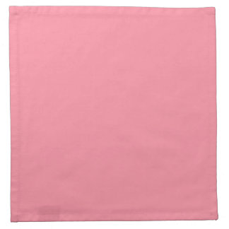 Salmon Pink Top Complementary Color Napkin