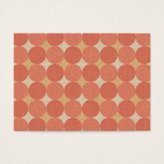 Salmon Poka Dots Business Card