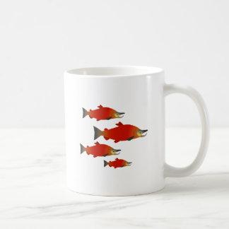 Salmon Rally Coffee Mug