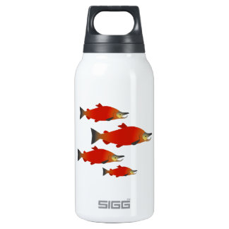 Salmon Rally Insulated Water Bottle