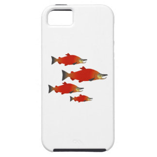 Salmon Rally iPhone 5 Covers