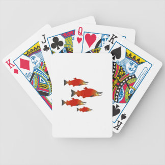 Salmon Rally Poker Deck