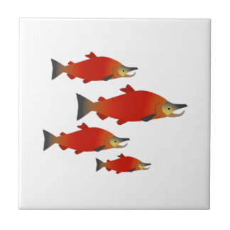 Salmon Rally Tile