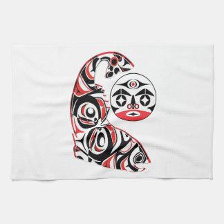 Salmon Spirit Kitchen Towel