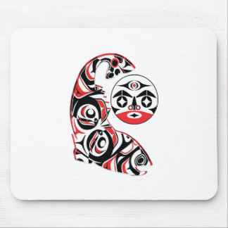 Salmon Spirit Mouse Pad