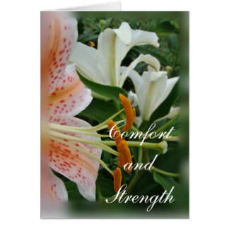 Salmon Star Lily -customize any occasion Card